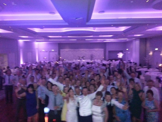 Cork Wedding DJ Paudie Walsh at the Charleville Park Hotel