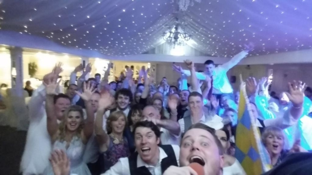 Clare Wedding DJ Paudie Walsh at the Bunratty Castle Hotel