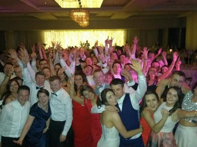 Kerry Wedding DJ Paudie Walsh at the Malton, Killarney