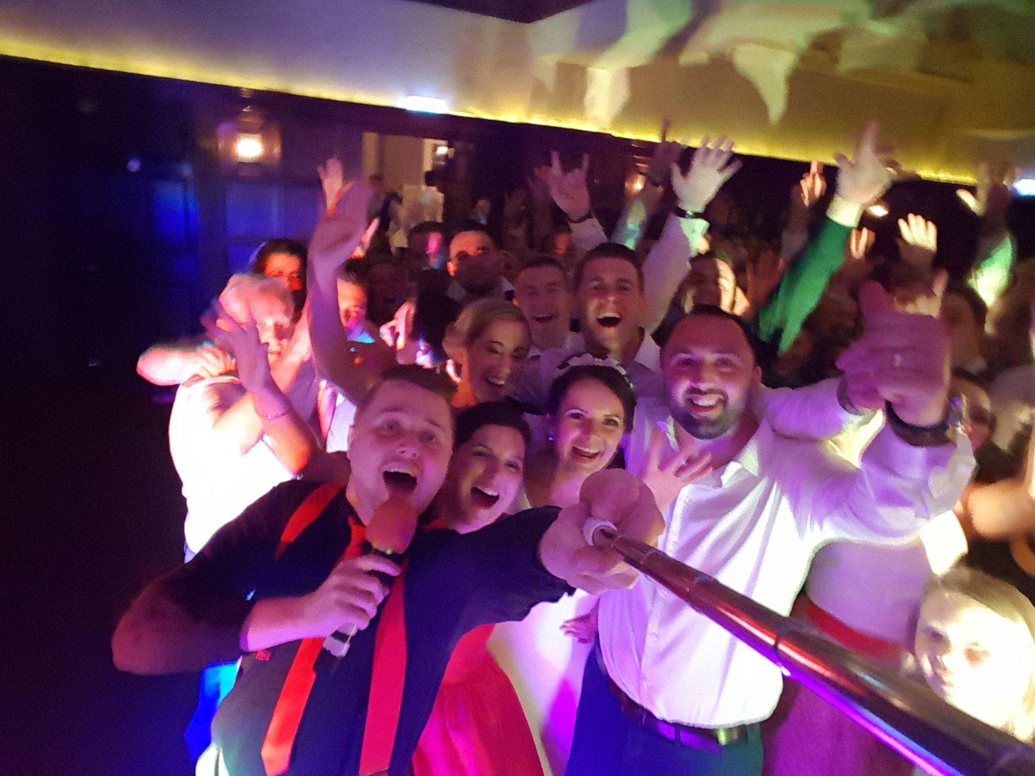 Kerry Wedding DJ Paudie Walsh at Dromquinna Manor