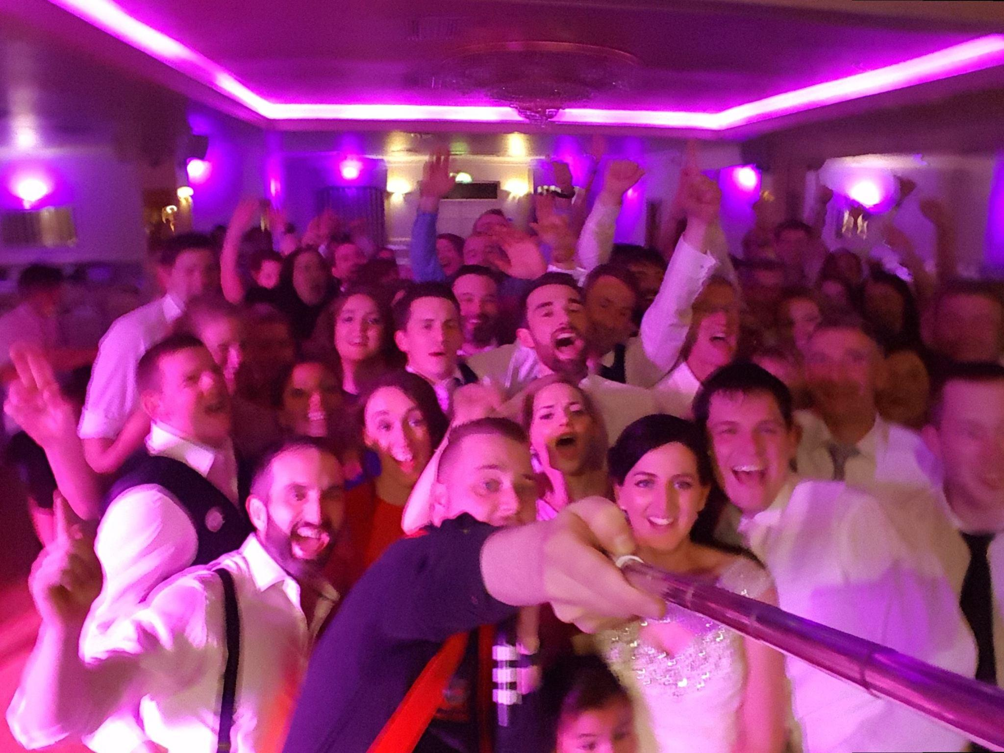 Clare Wedding DJ Paudie Walsh at the Falls Hotel