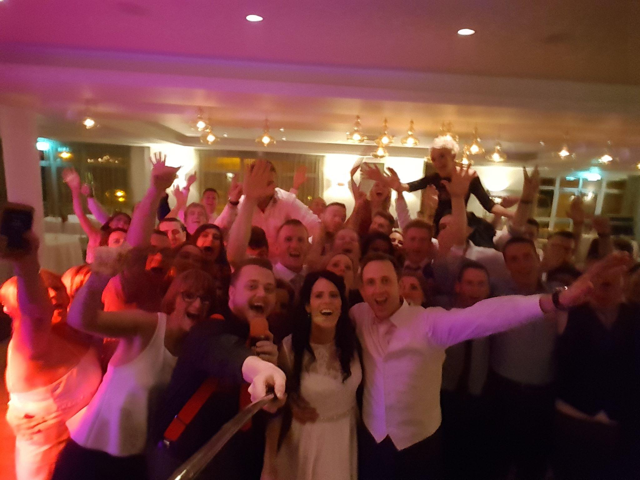 Clare Wedding DJ Paudie Walsh at the Armada Hotel