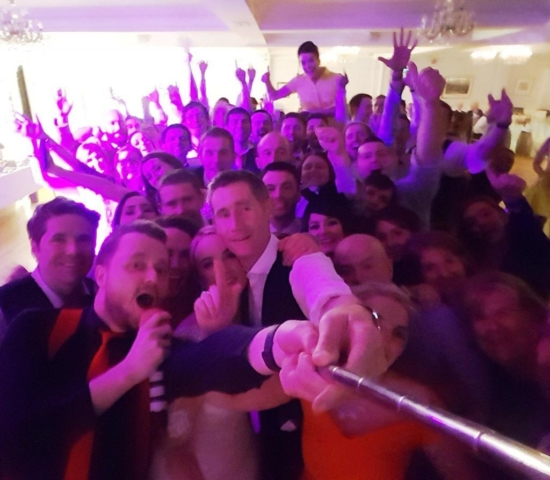 Limerick Wedding DJ Paudie Walsh in the Dunraven Arms