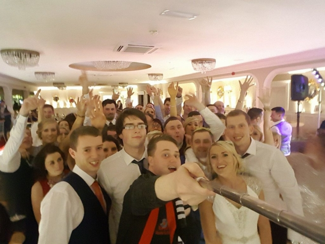 Limerick Wedding DJ Paudie Walsh at the Woodlands Hotel