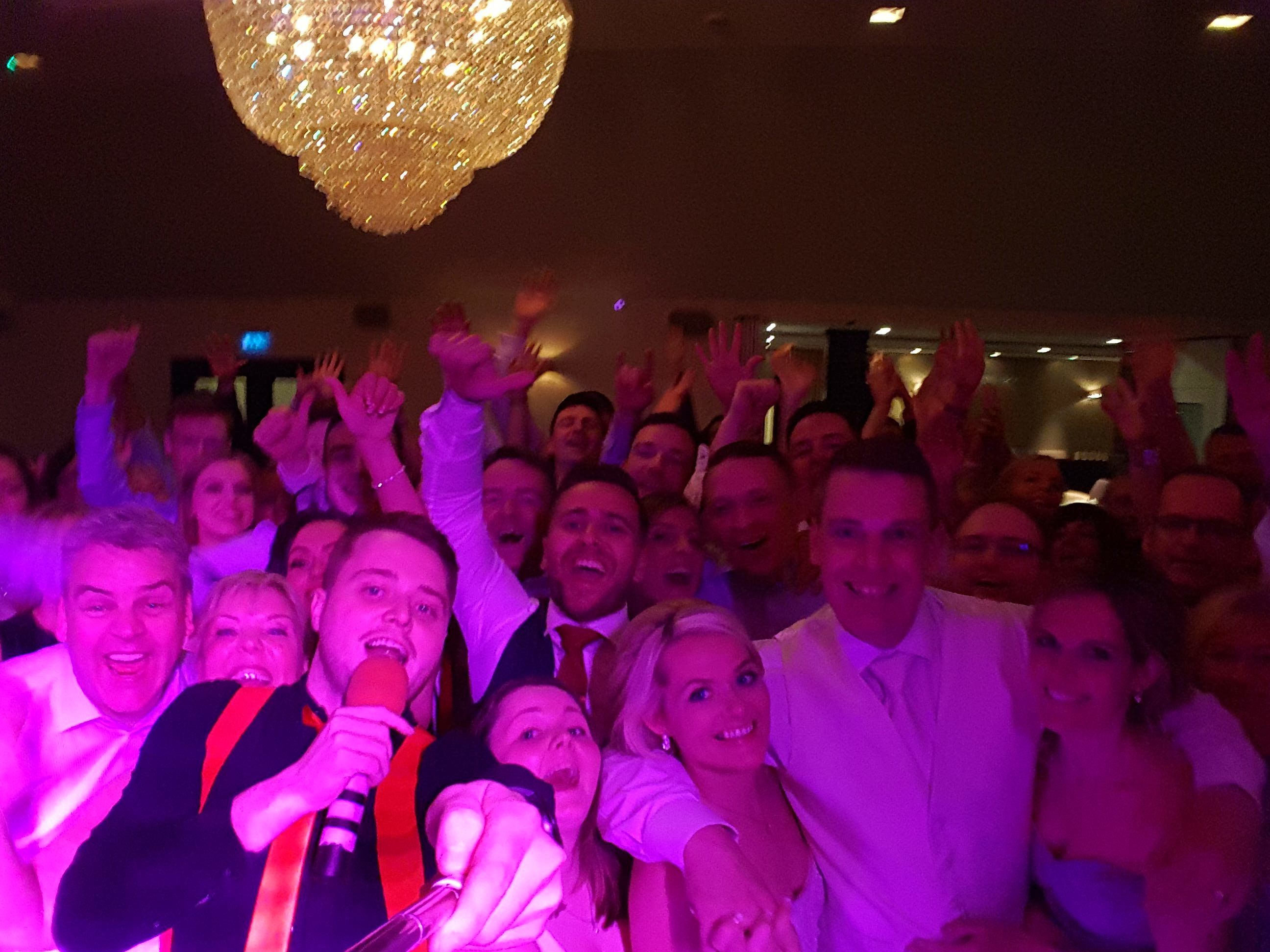 Irish Wedding DJ Paudie Walsh at Tulfarris Resort Wicklow