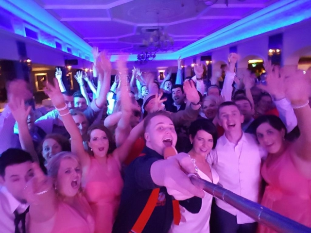 Kerry Wedding DJ Paudie Walsh at Ballygarry House