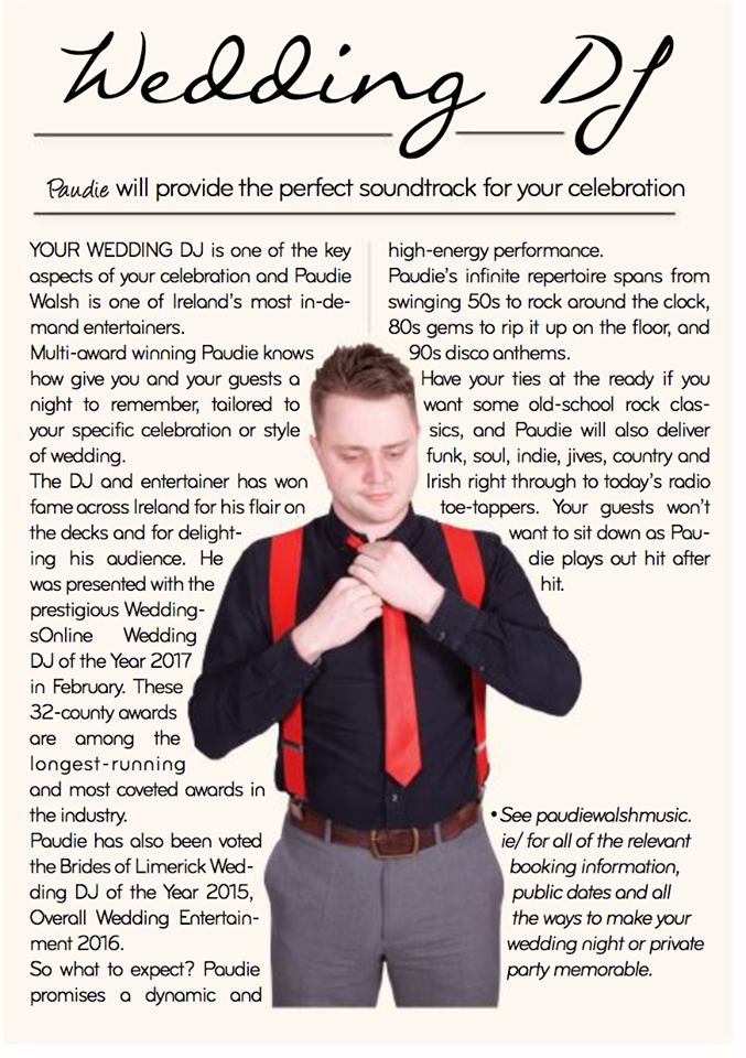 Killarney Wedding DJ