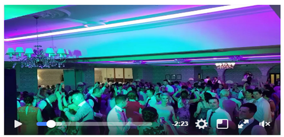 Wedding DJ in Limerick at The Devon Inn Hotel