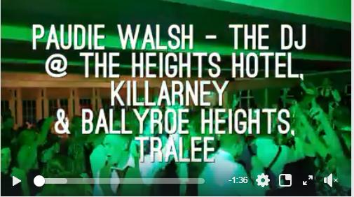Kerry Wedding DJs – Paudie Walsh in Killarney & Tralee