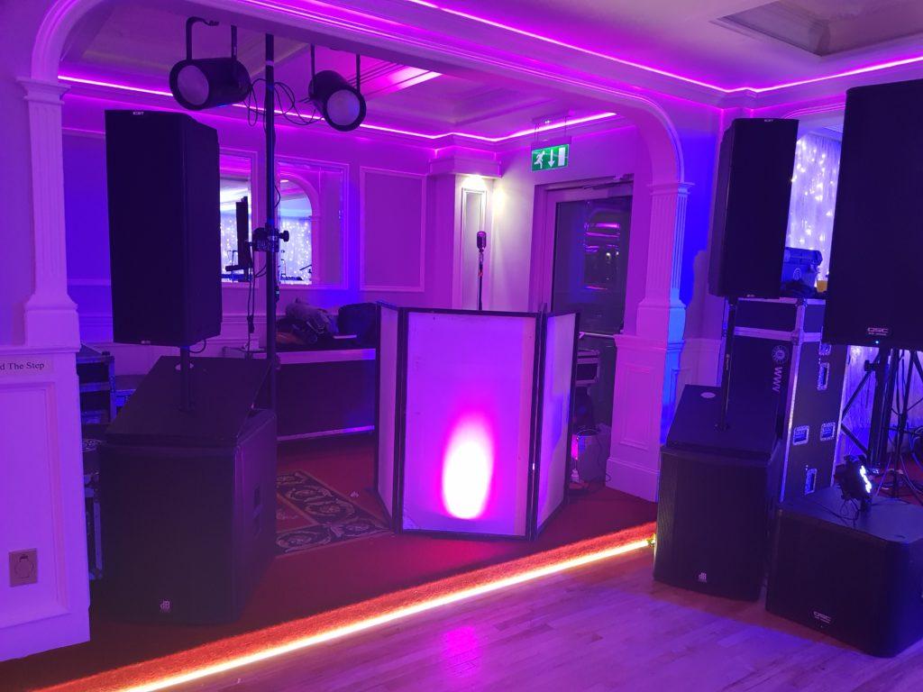 Wedding DJs Clare Setup