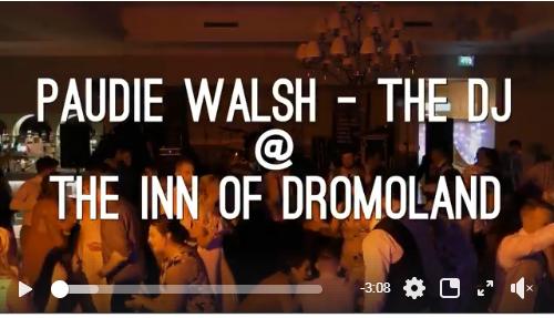 Wedding DJs Clare – Paudie Walsh @ The Inn at Dromoland