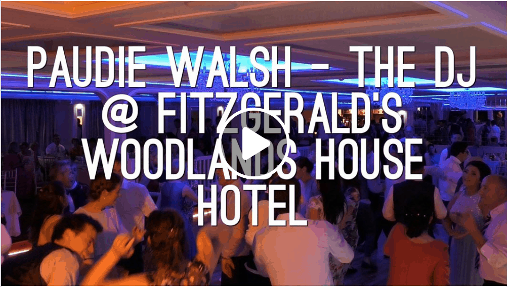 Wedding DJs in Limerick at The Woodlands Hotel