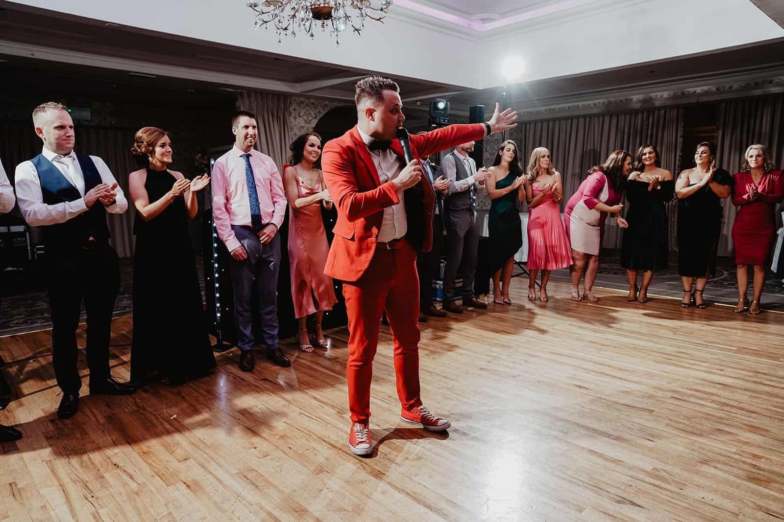 Limerick Wedding DJ Paudie Walsh Full Night Devon Inn Hotel Wedding